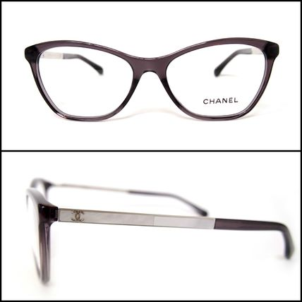 9492c5997a CHANEL Optical Blended Fabrics Optical Eyewear 5 CHANEL Optical Blended  Fabrics Optical Eyewear ...
