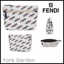 FENDI Unisex Pouches & Cosmetic Bags