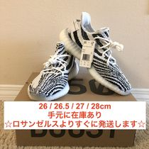 Yeezy Zebra Patterns Unisex Street Style Collaboration Sneakers