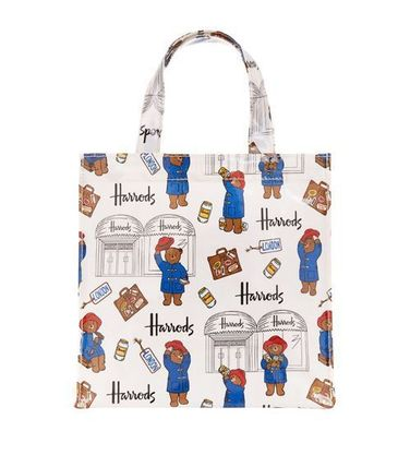 Casual Style Unisex PVC Clothing Totes