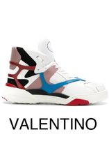VALENTINO Street Style Leather Sneakers