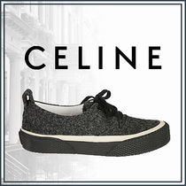 CELINE Casual Style Suede Street Style Plain Home Party Ideas