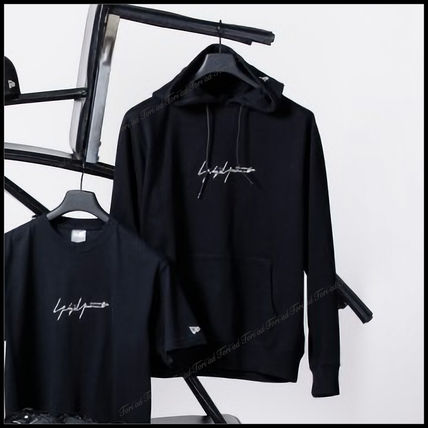 Yohji Yamamoto Hoodies Unisex Collaboration Long Sleeves Cotton Hoodies 2