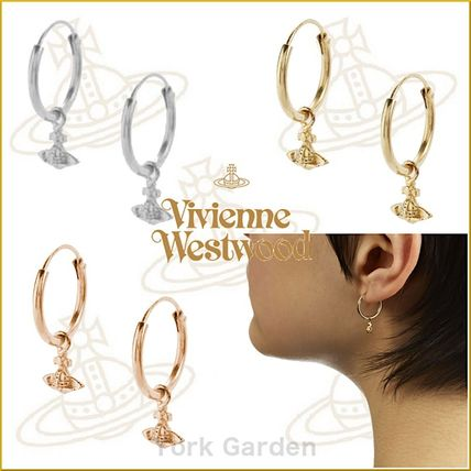 Casual Style Unisex Earrings