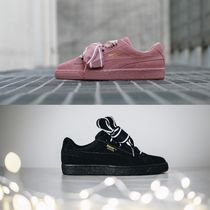 PUMA SUEDE Casual Style Unisex Street Style Plain Low-Top Sneakers