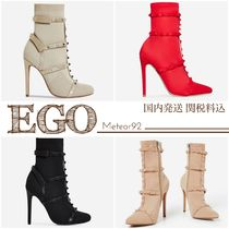 EGO Casual Style Street Style Plain Pin Heels