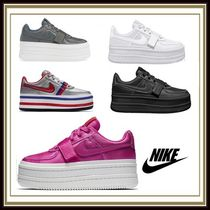 Nike Stripes Platform Plain Toe Casual Style