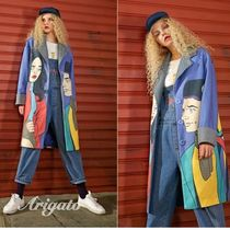 ELF SACK Casual Style Street Style Long Chester Coats