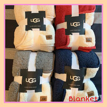 UGG Australia Unisex Plain Bold Throws