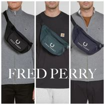FRED PERRY Unisex Street Style Plain Hip Packs