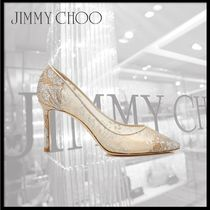 Jimmy Choo Leather High Heel Pumps & Mules