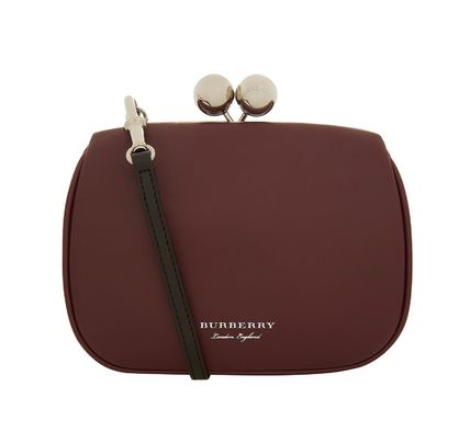 2WAY Leather Party Style Shoulder Bags