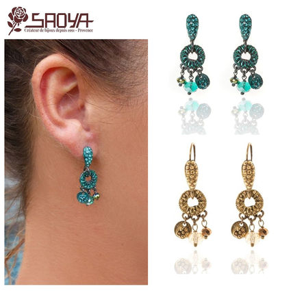 Costume Jewelry Elegant Style Earrings & Piercings