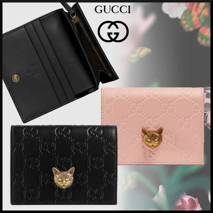 watch 1ad3d ebf87 GUCCI 2019 Cruise Monogram Leather With Jewels Card Holders (548057 0G6FT  5877, 548057 0G6FT 1081)
