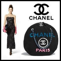 CHANEL Casual Style Lambskin A4 Chain Plain Shoulder Bags
