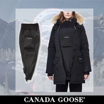 CANADA GOOSE Casual Style Blended Fabrics Plain Outerwear