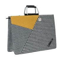 Lollipops Tartan Other Plaid Patterns Casual Style Totes