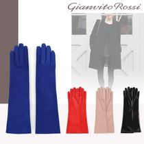 Gianvito Rossi Suede Gloves Gloves