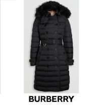Burberry Other Check Patterns Medium Down Jackets