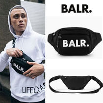 BALR Unisex Street Style Hip Packs