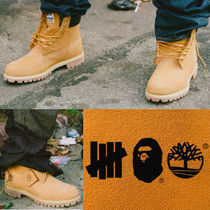 A BATHING APE Street Style Collaboration Mid Heel Boots