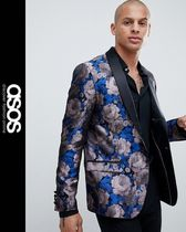 ASOS Flower Patterns Street Style Blazers Jackets
