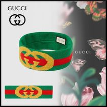 GUCCI Casual Style Unisex Street Style Headbands