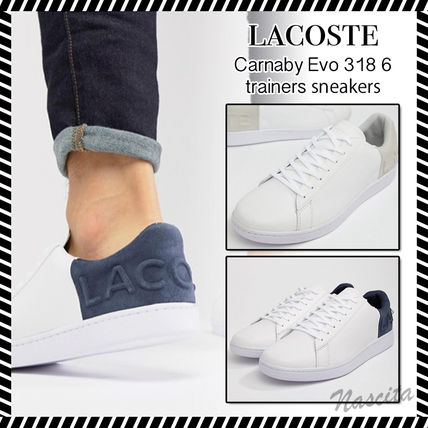 Street Style Plain Leather Sneakers