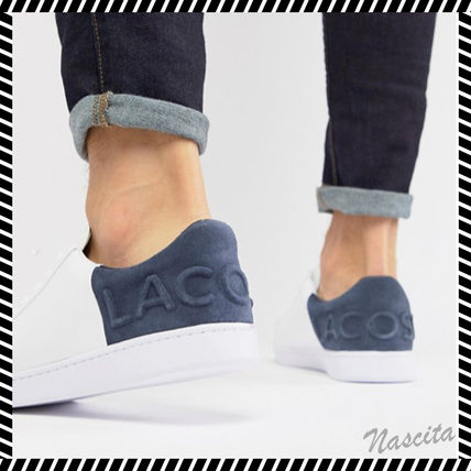 dcf0076c5 LACOSTE 2019 SS Street Style Plain Leather Sneakers by Nascita - BUYMA