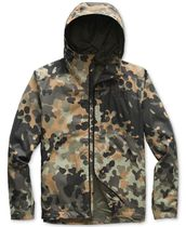 THE NORTH FACE Short Camouflage Street Style Biker Jackets
