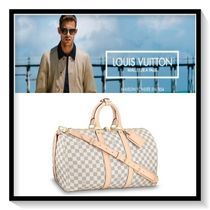 Louis Vuitton Other Check Patterns Canvas A4 Boston Bags