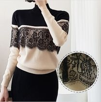 Flower Patterns Lace Sweaters
