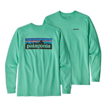 Patagonia Long Sleeve Street Style Long Sleeves Plain Cotton Long Sleeve T-Shirts 7