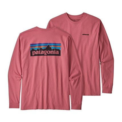 Patagonia Long Sleeve Street Style Long Sleeves Plain Cotton Long Sleeve T-Shirts 9