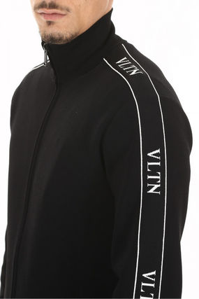 VALENTINO Sweatshirts Long Sleeves Logos on the Sleeves Sweatshirts 6