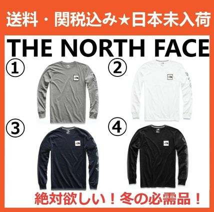 THE NORTH FACE Long Sleeve Pullovers Long Sleeves Cotton Long Sleeve T-Shirts