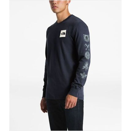 THE NORTH FACE Long Sleeve Pullovers Long Sleeves Cotton Long Sleeve T-Shirts 2