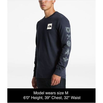 THE NORTH FACE Long Sleeve Pullovers Long Sleeves Cotton Long Sleeve T-Shirts 3
