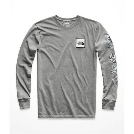 THE NORTH FACE Long Sleeve Pullovers Long Sleeves Cotton Long Sleeve T-Shirts 4