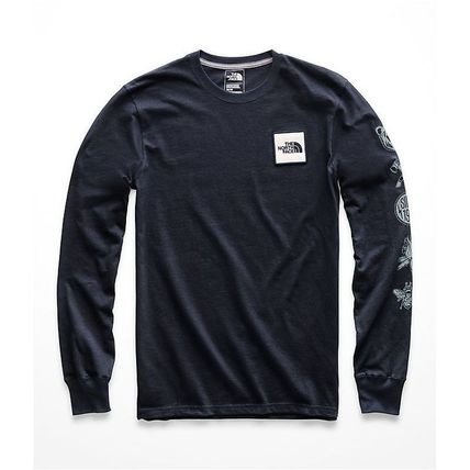 THE NORTH FACE Long Sleeve Pullovers Long Sleeves Cotton Long Sleeve T-Shirts 6