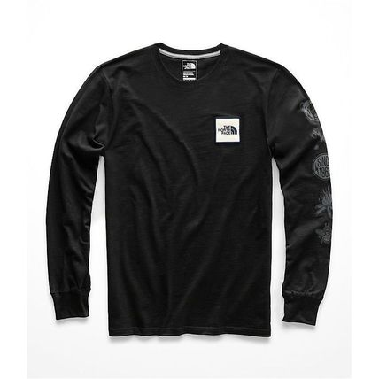 THE NORTH FACE Long Sleeve Pullovers Long Sleeves Cotton Long Sleeve T-Shirts 7