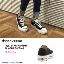 CONVERSE Platform Casual Style Street Style Plain Dad Sneakers