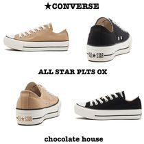 CONVERSE ALL STAR Wedge Casual Style Plain Platform & Wedge Sneakers