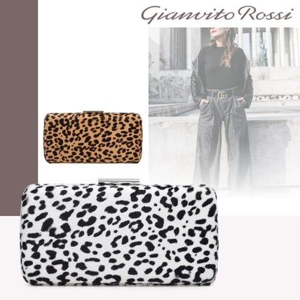 Leopard Patterns Party Style Clutches