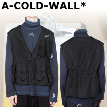 A-COLD-WALL 2018-19AW Nylon Street Style Vests & Gillets