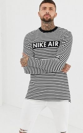 Nike Long Sleeve Crew Neck Stripes Long Sleeves Long Sleeve T-Shirts 2