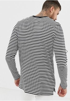 Nike Long Sleeve Crew Neck Stripes Long Sleeves Long Sleeve T-Shirts 3