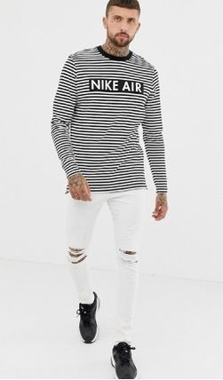 Nike Long Sleeve Crew Neck Stripes Long Sleeves Long Sleeve T-Shirts 5