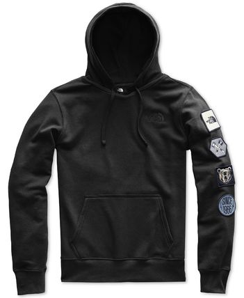 THE NORTH FACE Hoodies Street Style Long Sleeves Cotton Logos on the Sleeves 2