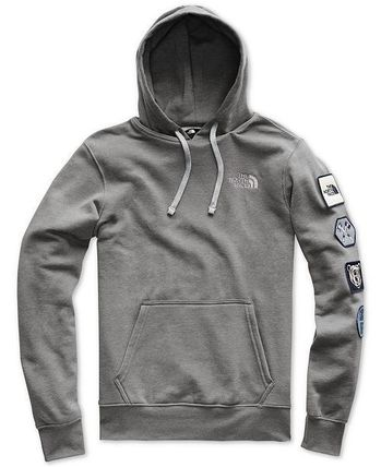 THE NORTH FACE Hoodies Street Style Long Sleeves Cotton Logos on the Sleeves 3